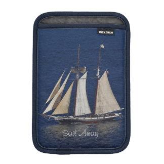 Sailboat iPad Mini Vertical Sleeve iPad Mini Sleeves