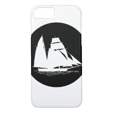 Beach Themed sailboat iPhone 7 case