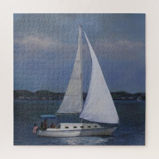 Sailboat Jigsaw Puzzle