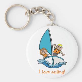 Sailboat Keychain