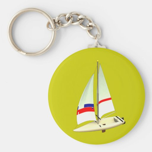 Sailboat Key Chain
