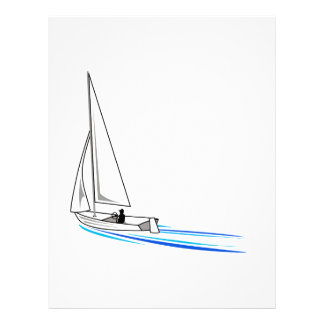 Sailboat Letterhead
