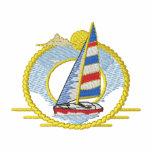 Sailboat Logo Embroidered Polo Shirt