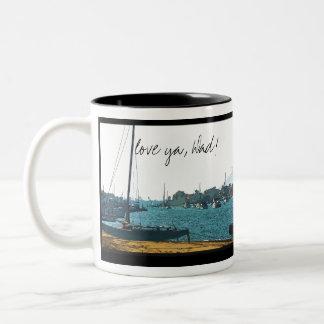 Sailboat Love Ya, Dad! Mug