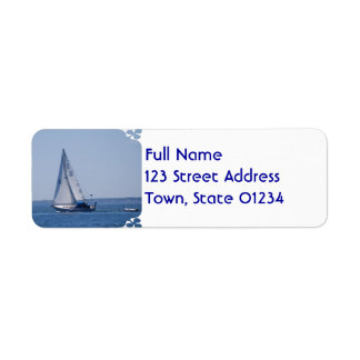 Sailboat Mailing Labels