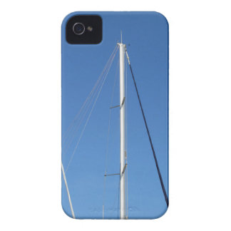 Sailboat masts in the marina against a blue sky Case-Mate iPhone 4 case