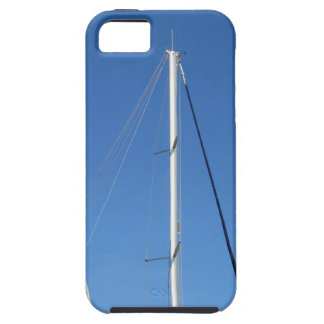 Sailboat masts in the marina against a blue sky iPhone SE/5/5s case