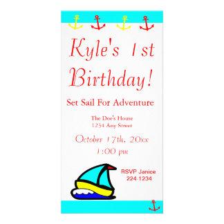 Sailboat Nautical Card