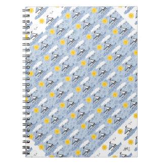 Sailboat Spiral Notebooks