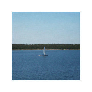 Sailboat on Lake Ontario Canvas Print