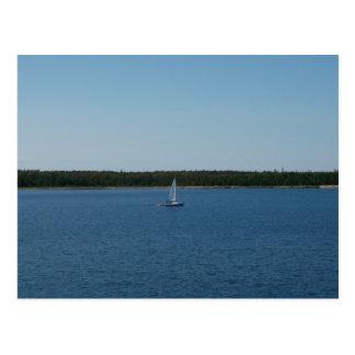 Sailboat on Lake Ontario Postcard
