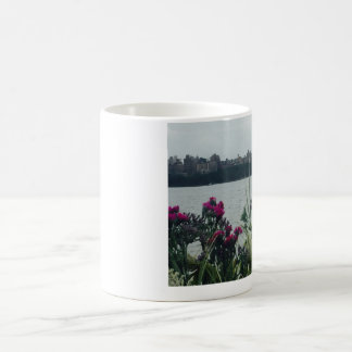 Sailboat on the Hudson River Coffee Mug