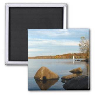 Sailboat on the Lake Magnet