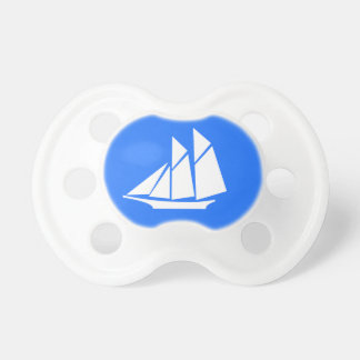 Sailboat pacifier BooginHead pacifier