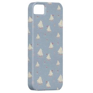 Sailboat Pattern iPhone SE/5/5s Case