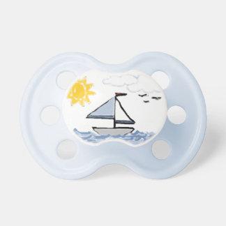 Sailboat PB BooginHead Pacifier