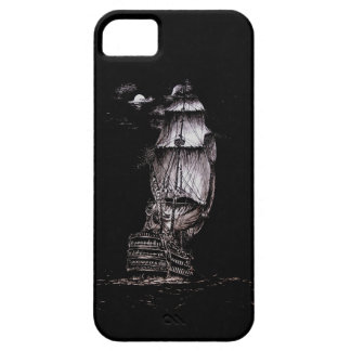 Sailboat Pen and Ink Drawing iPhone 5 case