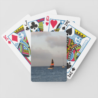Sailboat Picture Playing Cards