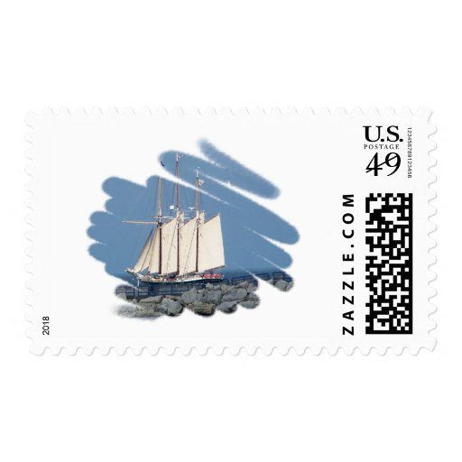 sailboat postage stamps