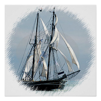 Sailboat Poster