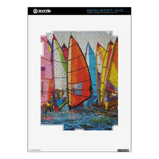 Sailboat Puzzle Pic iPad 3 Skin