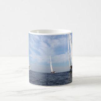 Sailboat Race Coffee Mug