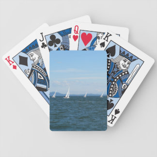 SAILBOAT RACES BICYCLE PLAYING CARDS