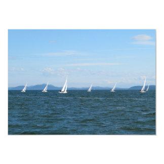 Sailboat Races Card