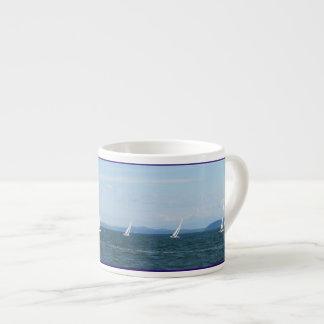 Sailboat Races Espresso Cup