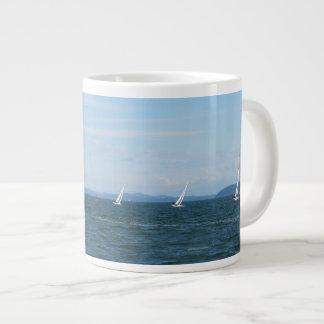 Sailboat Races Giant Coffee Mug