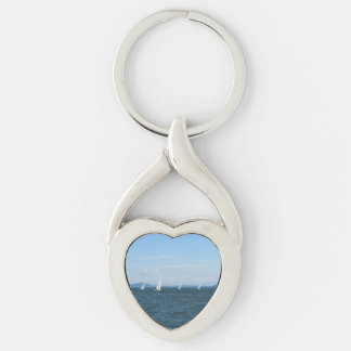 Sailboat Races Keychain