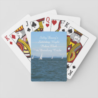 Sailboat Races Poker Cards
