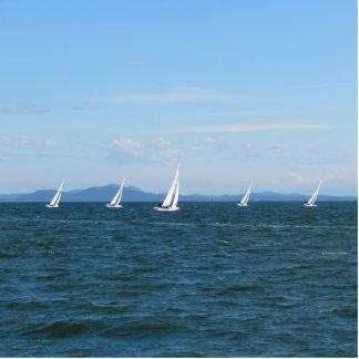 Sailboat Races Statuette