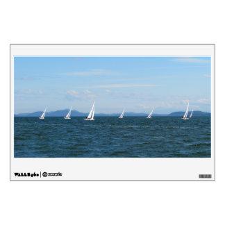 Sailboat Races Wall Sticker