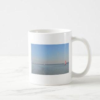 Sailboat Racing On The Thames Coffee Mug