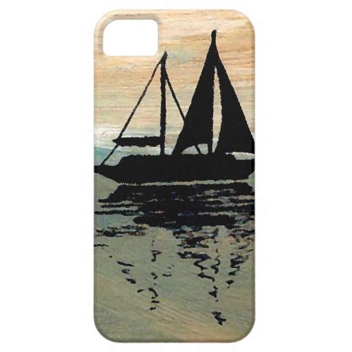 SailBoat Reflections CricketDiane Ocean Stuff iPhone 5 Case