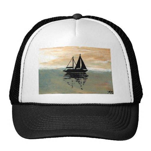 SailBoat Reflections CricketDiane Ocean Stuff Mesh Hat