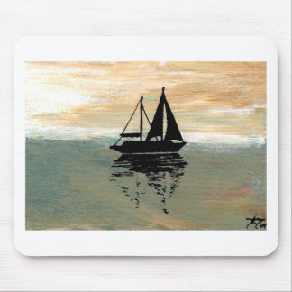 SailBoat Reflections CricketDiane Ocean Stuff Mouse Pad