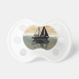 SailBoat Reflections CricketDiane Ocean Stuff Pacifier