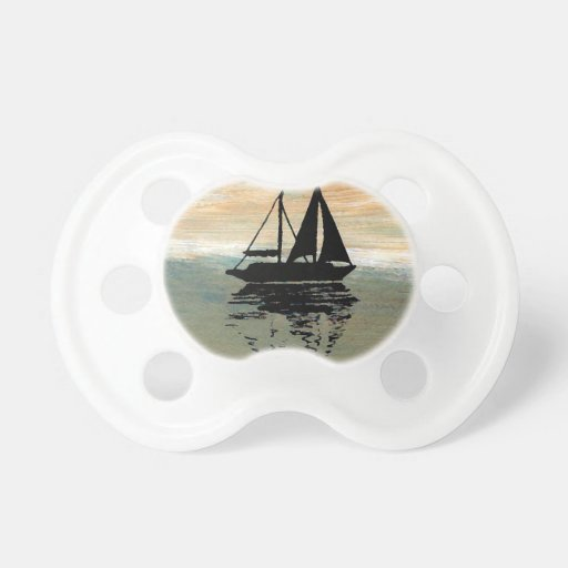 SailBoat Reflections CricketDiane Ocean Stuff Pacifiers