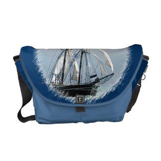 Sailboat Rickshaw Messenger Bag