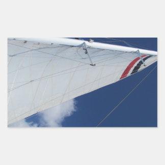 Sailboat Sail Rectangular Stickers