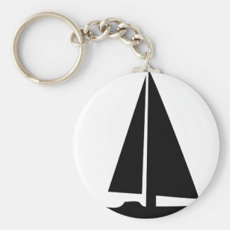 sailboat - sailing boat key chains