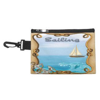 Sailboat - Sailing Clip On Accessory Bag