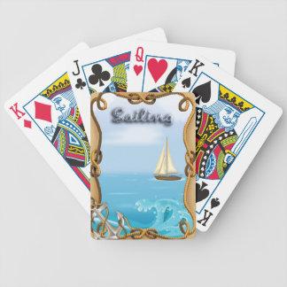 Sailboat - Sailing Playing Cards