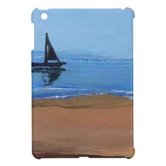 Sailboat Sailing Reflections Ocean Beach Art iPad Mini Cases