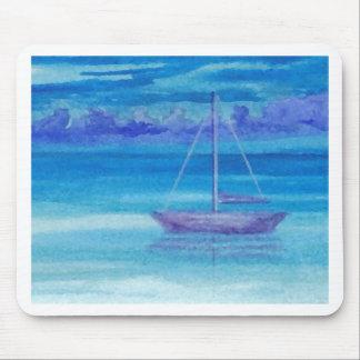 Sailboat Serenity CricketDiane Art Mouse Pad