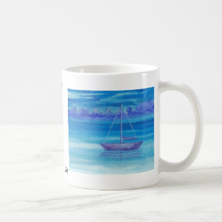 Sailboat Serenity CricketDiane Art Classic White Coffee Mug
