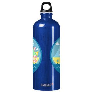 Sailboat SIGG Traveler 1.0L Water Bottle