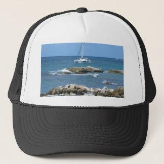 Sailboat St. Maarten Trucker Hat